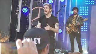 "Download ""Portugal"", ""Avalanche"", ""One Foot"" - Walk the Moon at Jimmy Kimmel LIVE! - Hollywood, CA 3/12/2019 Mp3 and Videos"