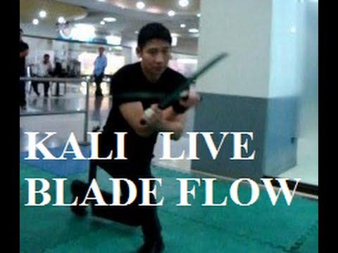 Live Blade Flow : Double Machetes ( Kali / Arnis / Eskrima )