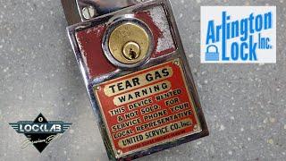 (1794) Lock Booby-Trapped w/Tear Gas!