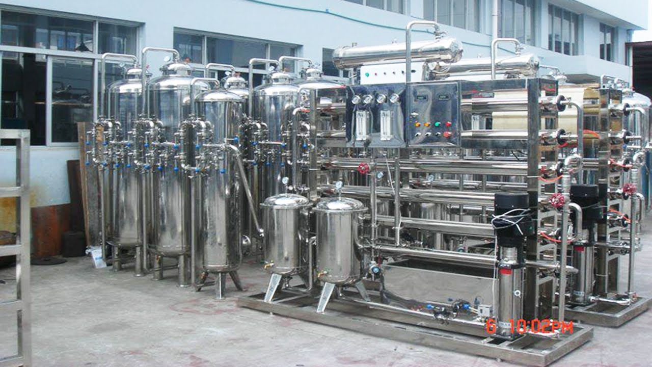 Water Purification System Two Stages Stainless Steel Ro