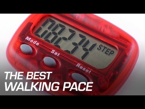 The Best Walking Pace