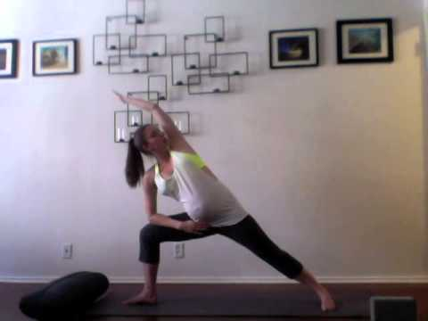 Pregnancy Yoga Week 18 - Grounding to Calm Nerves