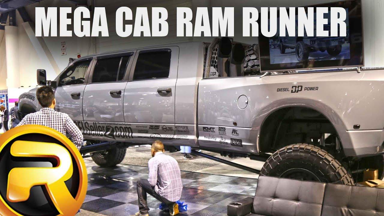 Mega Cab Ram Runner Sema Diesel Brothers Diesel