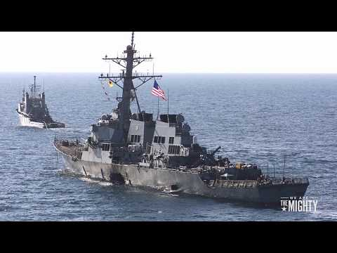 USS Cole Attacked By Terrorists - 10/12/2000