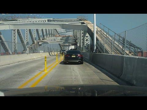 Crossing the Bayonne Bridge