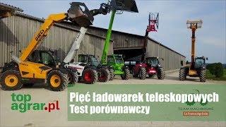 Test porównawczy pięciu ładowarek teleskopowych - top agrar Polska