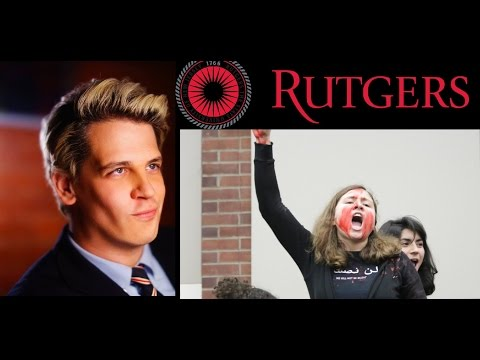Milo Yiannopoulos Q & A at Rutgers University 2-9-2016