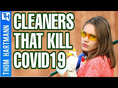 Household Products That Kill COVID-19?