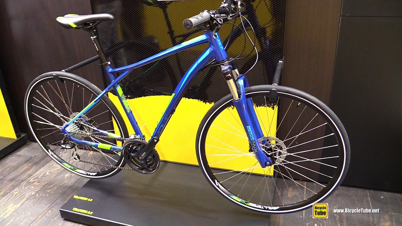 2016 Gt Bicycles Transeo Bike Walkaround 2015 Eurobike Youtube