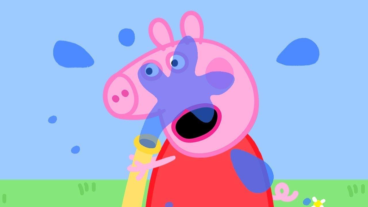 Peppa Pig in Hindi - Gaadi saaf karna - Hindi Cartoons for Kids