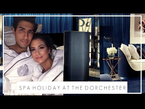 LUXURY HOTEL SPA WEEKEND AT THE DORCHESTER + OUTFIT DIARY | London Staycation Vlog | JASMINA PURI