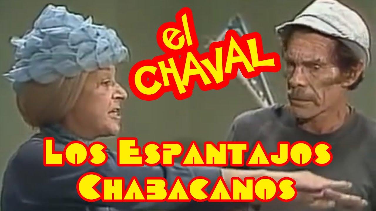 El Chavo Doblaje Español de España: El Chaval! - Los Espantajos Chabacanos P1 (Parodia Universeros)