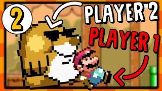 Player 2 Controls the Enemies | Super Mario World Rom Hack [Part 2] thumbnail
