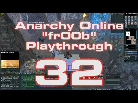 Anarchy Online 18.8 - Teh fr00b Playthrough # 32 [ Blitzing Basics ]