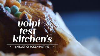 Easy Recipe for Skillet Chicken Pot Pie Recipe