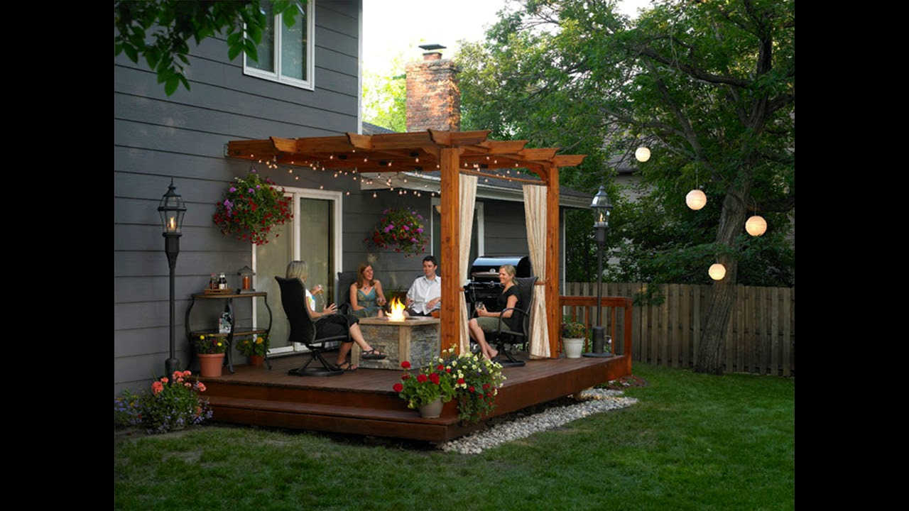 Best Small Patio Ideas For Creating An Outdoor ... on Small Backyard Entertainment Area Ideas id=27160