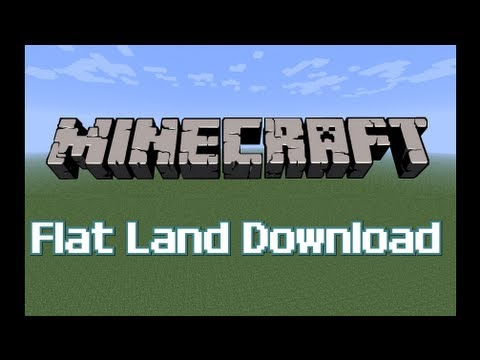MINECRAFT XBOX 360 - Flat Land *DOWNLOAD*