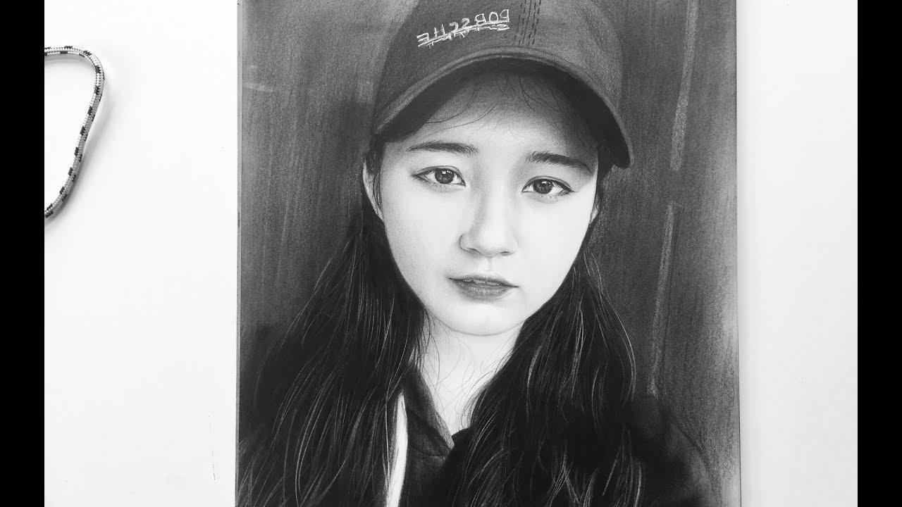 Portrait Drawing / Vẽ Chân Dung Truyền Thần Bút chì . – DP Truong