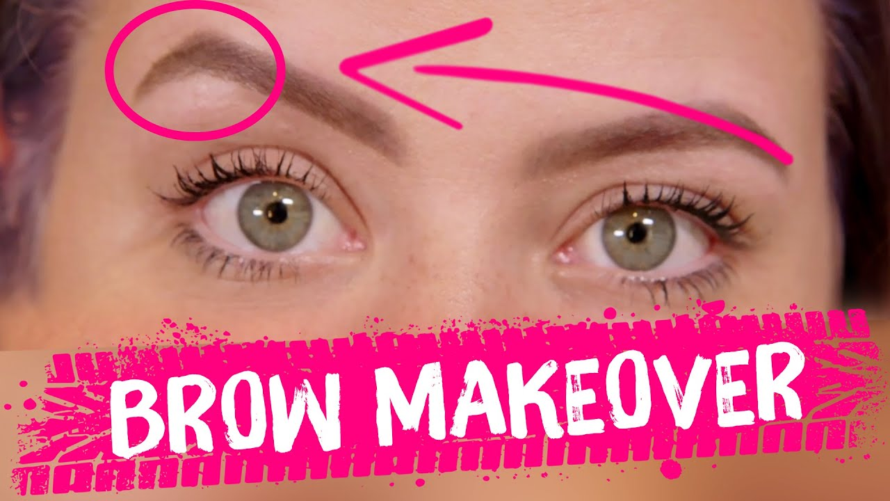 INSANE EYEBROW TRANSFORMATION (Beauty Trippin)