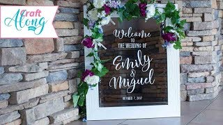 FDC Wall Vinyl for Personalized Wedding Products