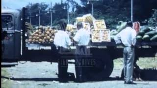 Segregated beaches - South Africa, 1930's - Film 93917