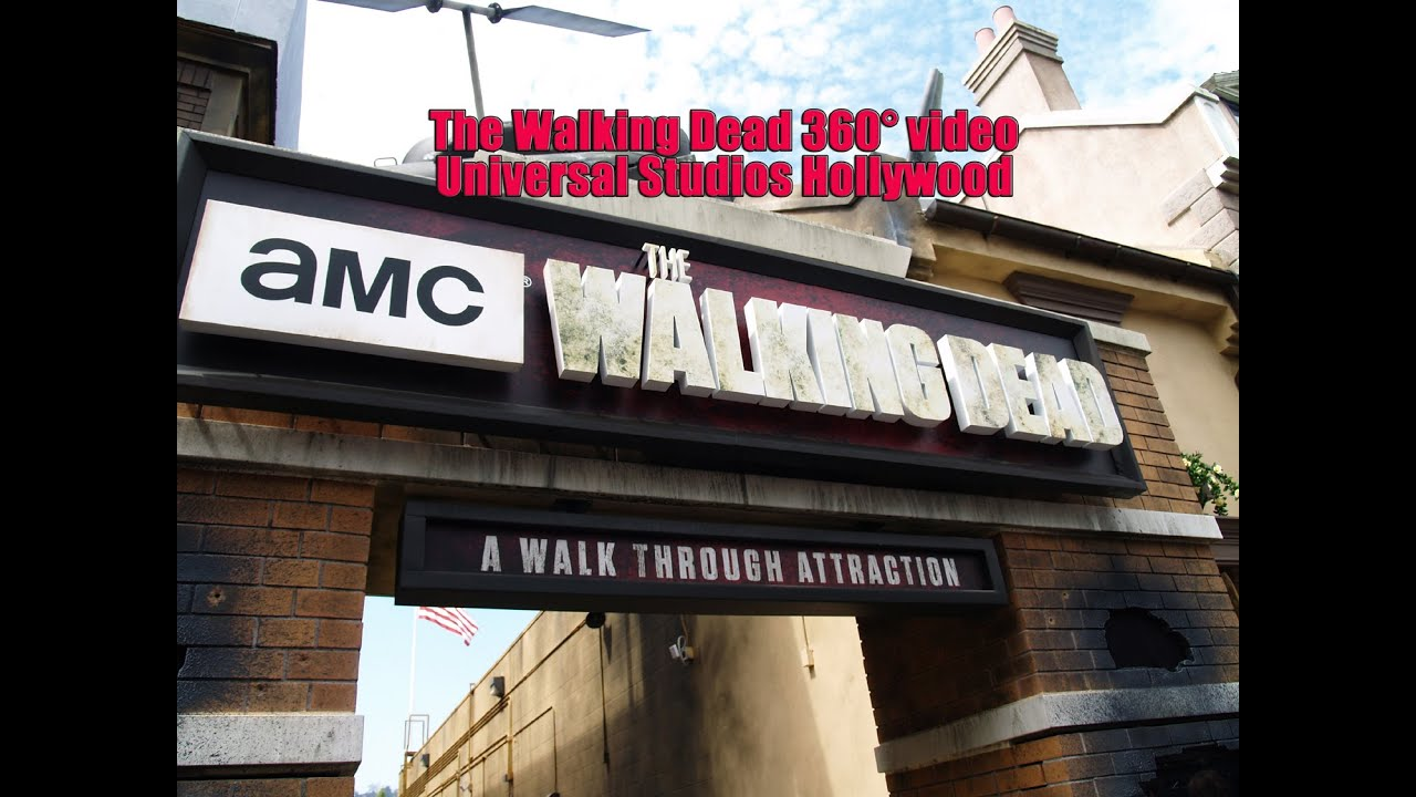 The Walking Dead Attraction 360° - Universal Studios ...