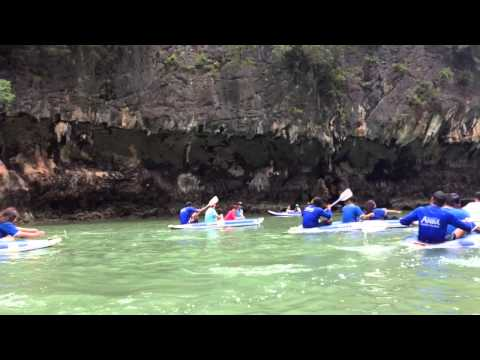 TTC Sea Canoe race @ Phanga Bay Phuket