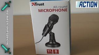 Action Stores - Ultra Cheap / 2,99 - Trust Microphone - Unboxing & Testing