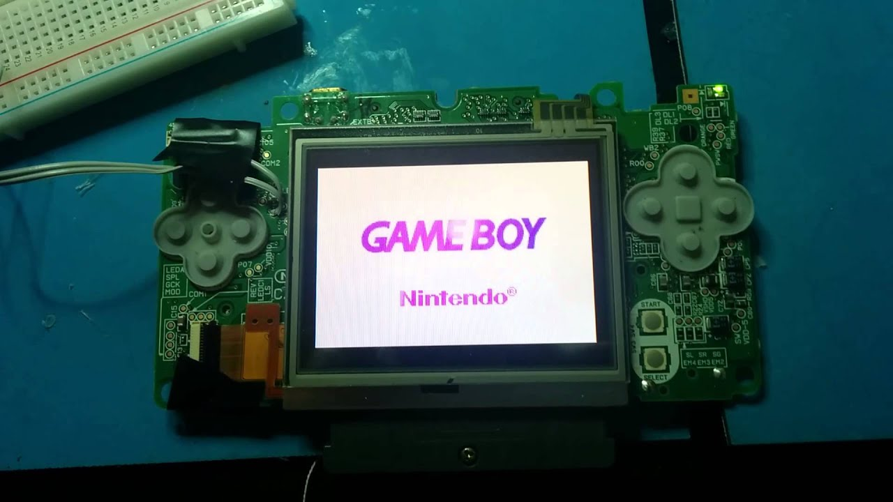 From Broken Nintendo DS To Fully Functional Game Boy Macro
