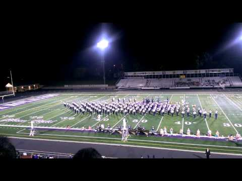 2014 Copley High School Marching Band at the North Royalton Band Show