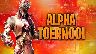 Opwarmen voor het Alpha Tournament! || Fortnite Battle Royale (NL)
