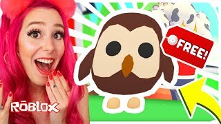 How To Get A FREE Legendary OWL Pet In Adopt Me.. Roblox Adopt Me NEW FARM EGG Update