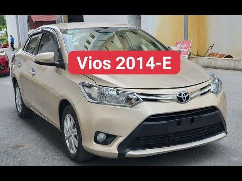 Bán xe – 120tr Có Ngay toyota Vios 2014 bản E xịn để đi / hỗ trợ bank 70% / LH 0358393896