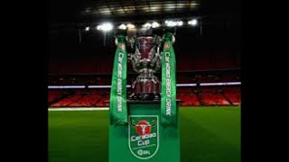 Carabao cup 4th Round Draw