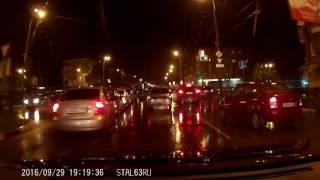 видеорегистратор Blackview Z3 - ночная съёмка