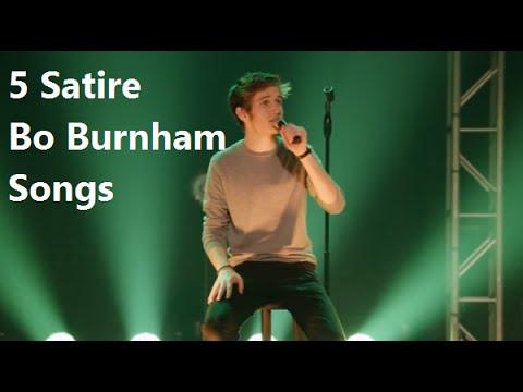 5 Satirical Bo Burnham Songs