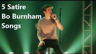 5 الساخرة بو بورنهام الأغاني