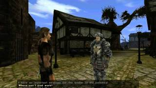 Gothic II Gold - Gameplay #5: The City Of Khorinis [PC]