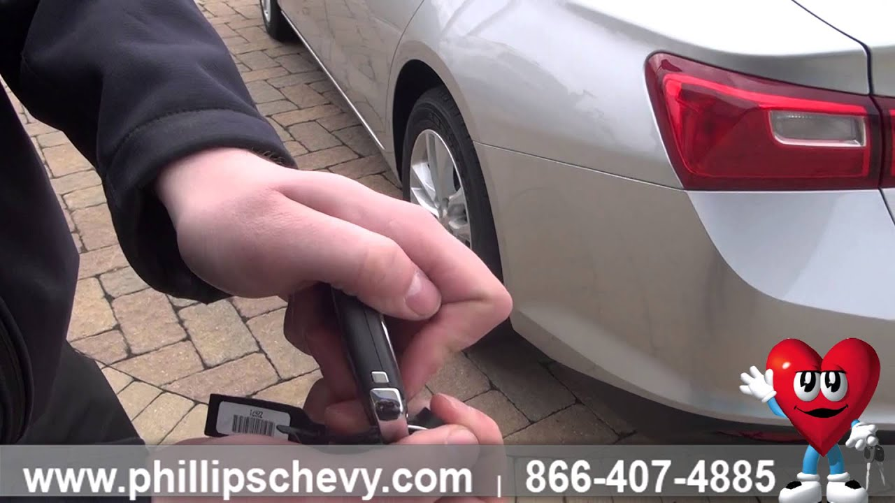 Phillips Chevrolet - 2016 Chevy Malibu – Dead Battery - Chicago New Car  Dealership