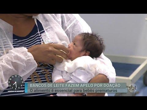 Mães pedem ajuda para arrecadar doações de leite para prematuros | Primeiro Impacto (09/03/18)