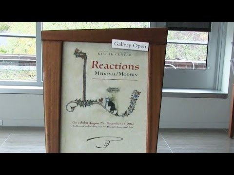 Reactions: Medieval/Modern. A Tour of the Exhibition  at UPenn Library