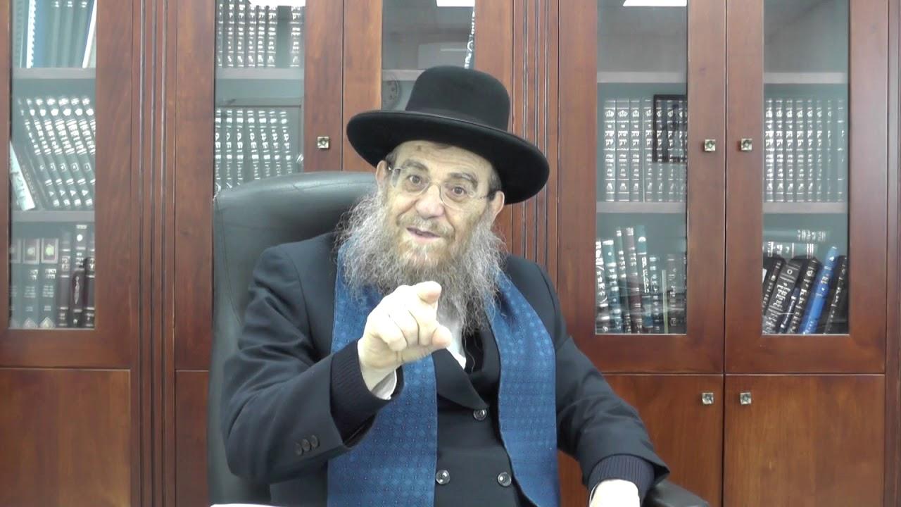"""הגאון הגדול הרב יצחק ברדא שליט""""א - פרשת בשלח"""