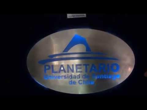 Visitando Planetario de la Universidad de Santiago de Chile