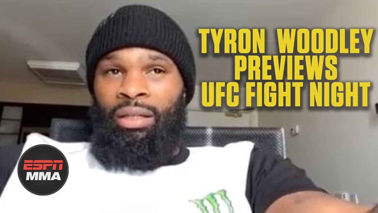 Tyron Woodley starting next chapter of career vs. Gilbert Burns | ESPN MMA