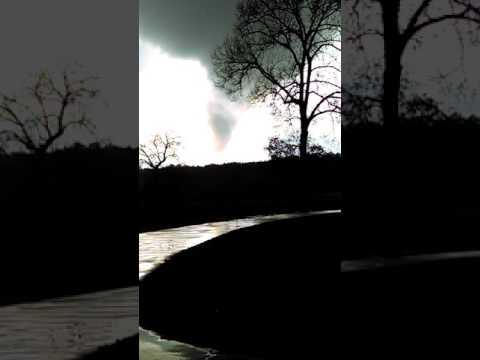 Tornado in Scottsville