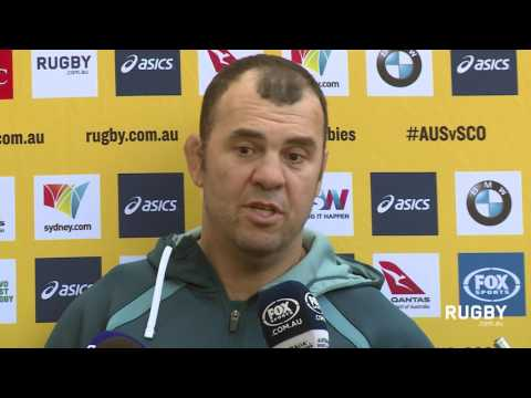 Cheika names side for Scotland