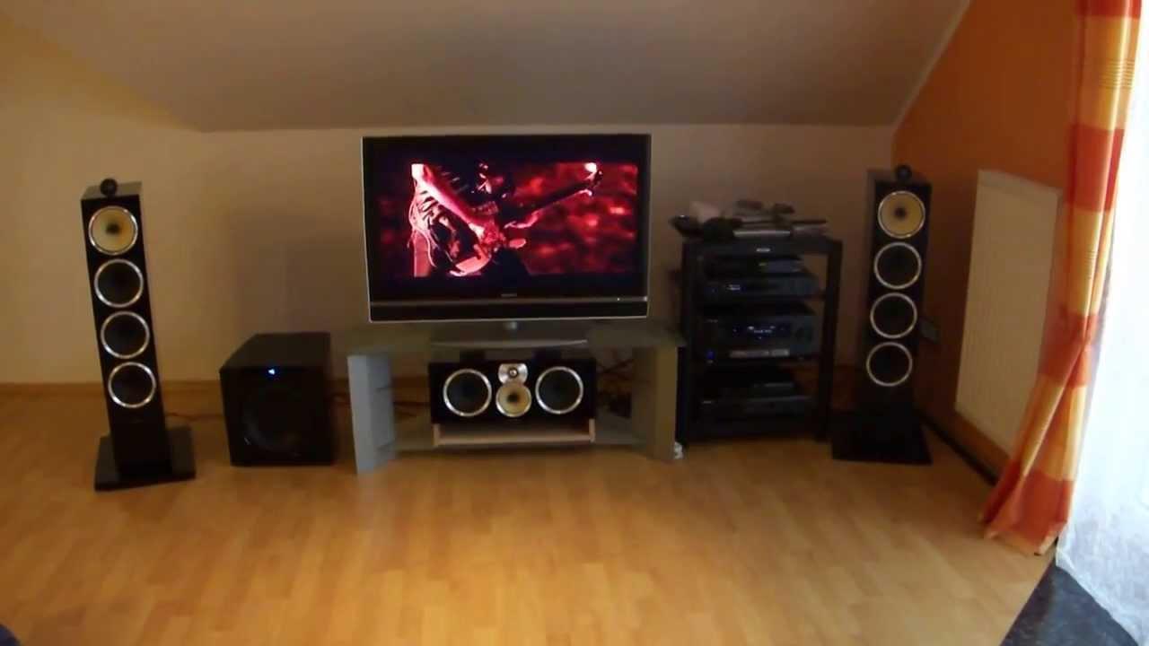 Metallica on bowers wilkins cm home cinema youtube - Home cinema conforama ...
