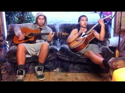 Kale Simpson and Te Riaki Nicoll ( cover tears in heaven by