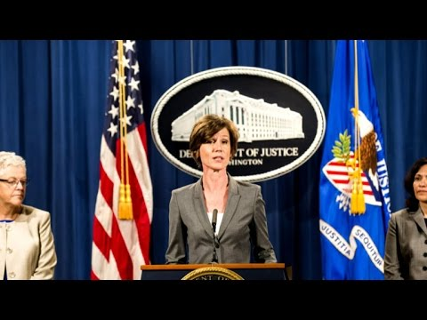 Acting attorney general tells DOJ not to defend Pres. Trump's travel ban