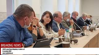 O kontroli w schronisku dla psów w Wojtyszkach na XXXIV sesji Rady Miejskiej w Łasku